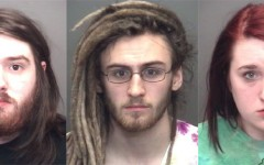 Three students arrested in campus drug bust
