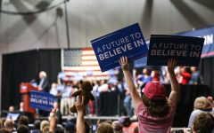 (GALLERY) Sanders Rally Downtown Evansville