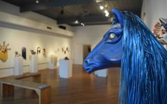 New Harmony Gallery features theater masks