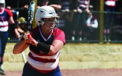 Softball splits series on Senior Day