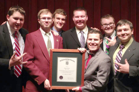 USI fraternity cleans up its act, wins international award