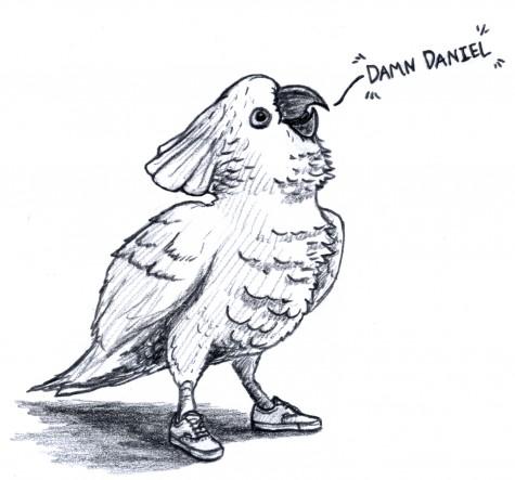 Damn, parrot
