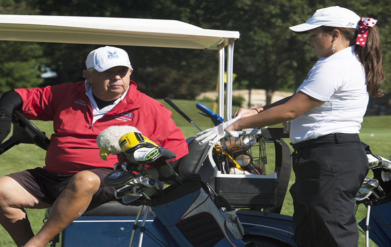 'He wasn't just a coach': Golf scramble to honor Bisesi, raise money for women's golf