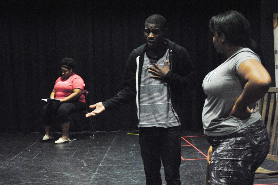 Student makes directing debut