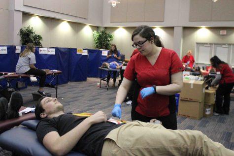 GALLERY: USI blood drive
