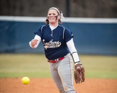Softball keeps winning as offense struggles