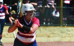 Softball splits series on Senior Day