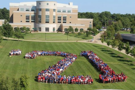 Freshman convocation encourages exploration