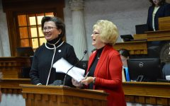 Bennett, Brinker honored at Statehouse