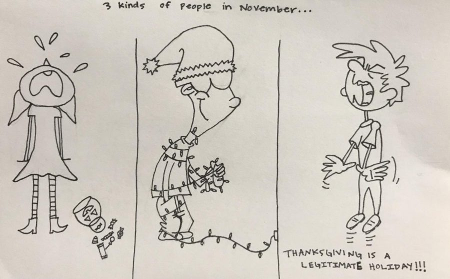 3 kinds of people in November