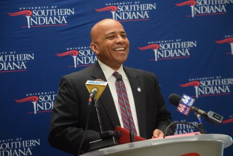 Rochon talks changes to higher ed, enrollment and future