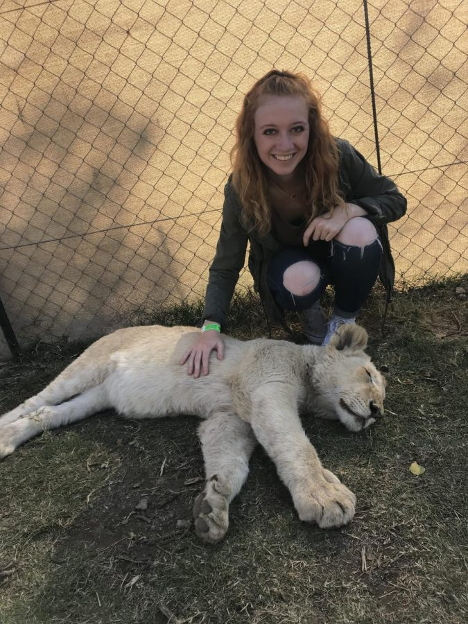 DeeAnna Reed, a senior business management major, spent seven weeks in Johannesburg, South Africa with a team from Campus Outreach.