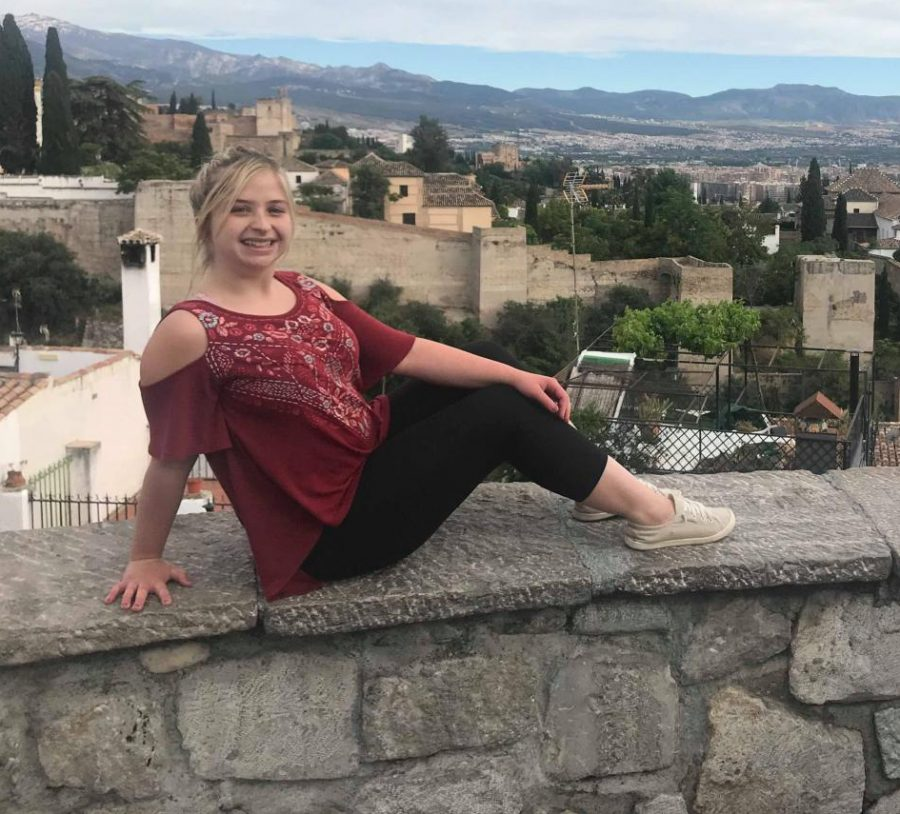 Gabrielle Baker, a senior public relations and advertising major, spent her summer in Spain through the Cultural Experiences Abroad Program.