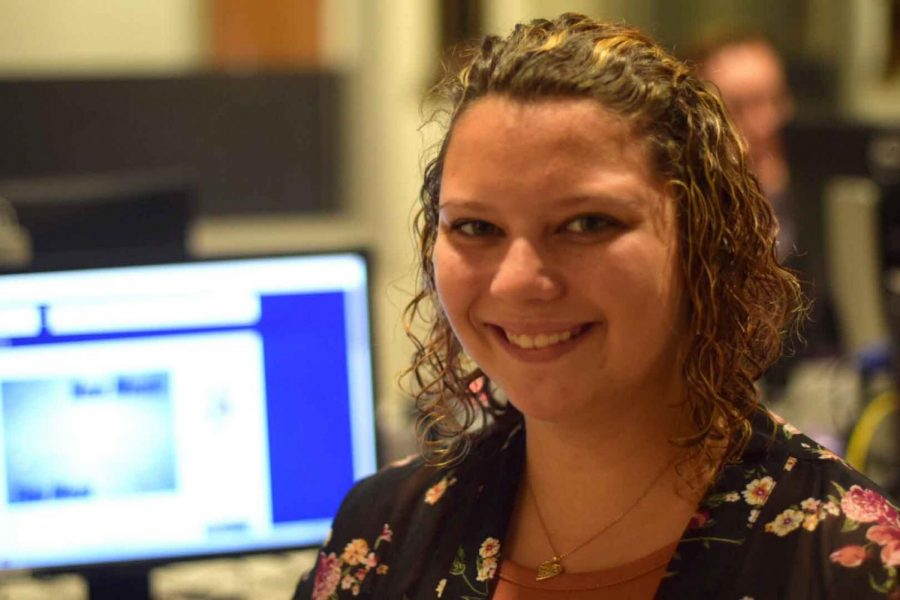 Crystal Phillips was selected as a finalist  for National Student Production Awards in the College Broadcasters Incorporated National Student Electronic Convention. The winner will be announced Oct. 27.