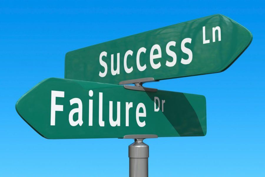 Failure encourages risks and growth