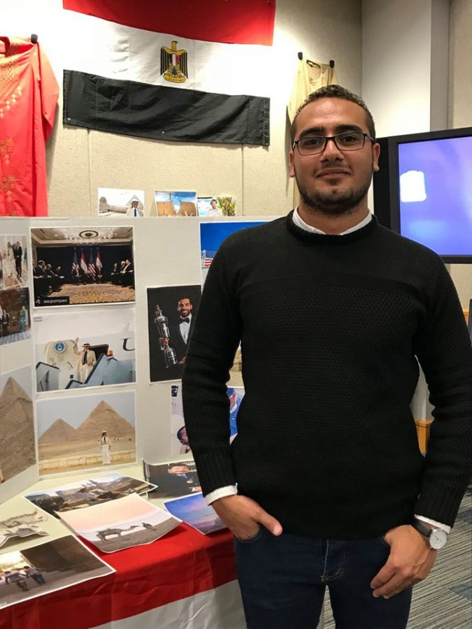 Beshoy Ewida earned a one-year scholarship to study in the United States, which was his dream for five years. Now, it is his dream to stay.