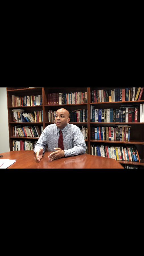 USI President Ronald Rochon talks about a variety of topics in a sit-down with The Shield including the university's future, enrollment and the impact of social media.