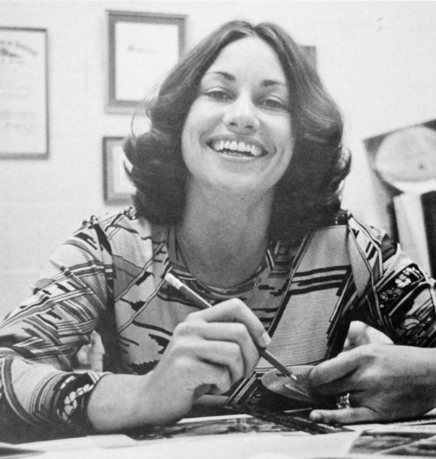 Sherrianne Standley became the adviser for The Shield in 1976. Standley said she challenged her students to be fair and accurate.