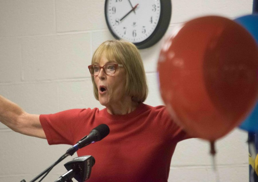 Lt. Governor Suzanne Crouch said that she believes Hoosiers believe that Indiana is headed in the right direction.