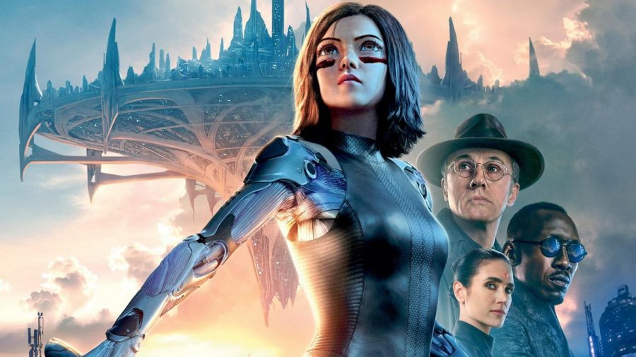 Kick-ass female lead, action in 'Alita: Battle Angel'
