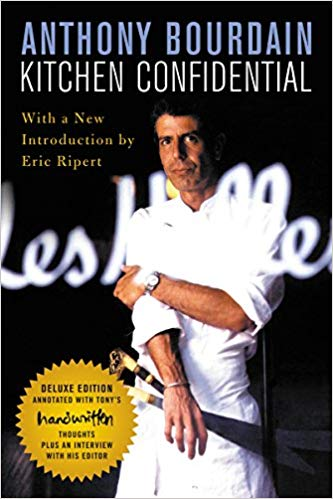 Anthony Bourdains Kitchen Confidential offers insight into life, food industry