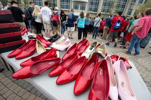 'Walk a Mile in Her Shoes' to tackle sexual assault, gender violence