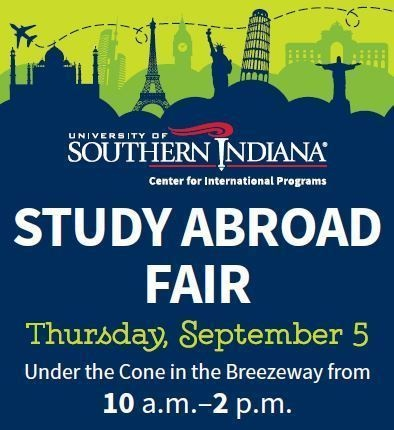 USI to host second annual Study Abroad Fair