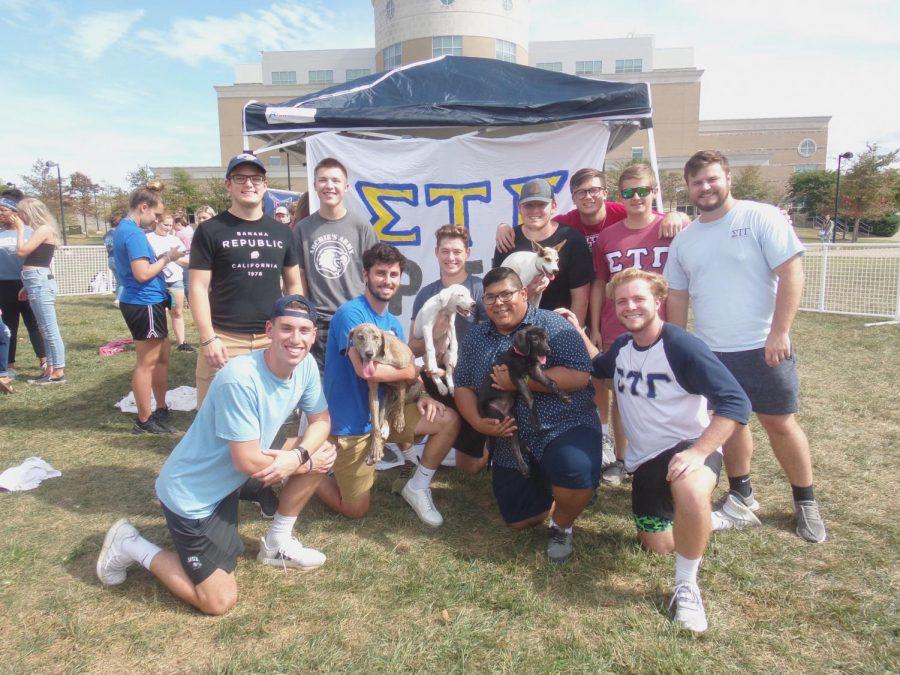 Fraternity raises $700 for shelter