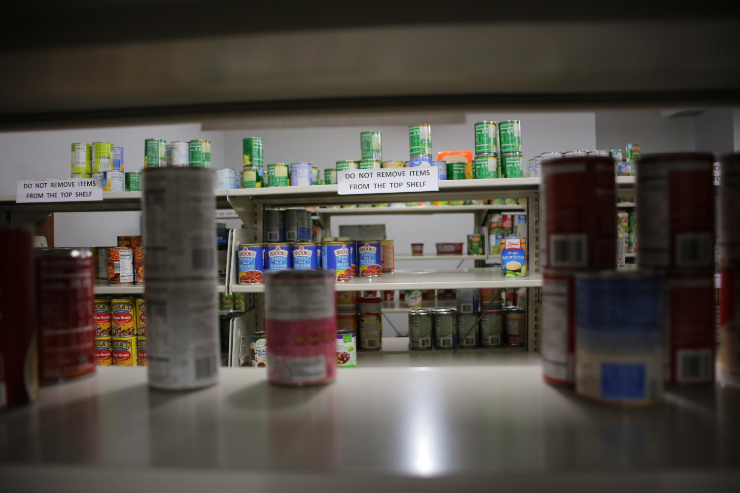 Archie's Food Closet gives students access to food and hygiene products.
