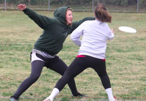 Women break away from co-ed Ultimate Frisbee team