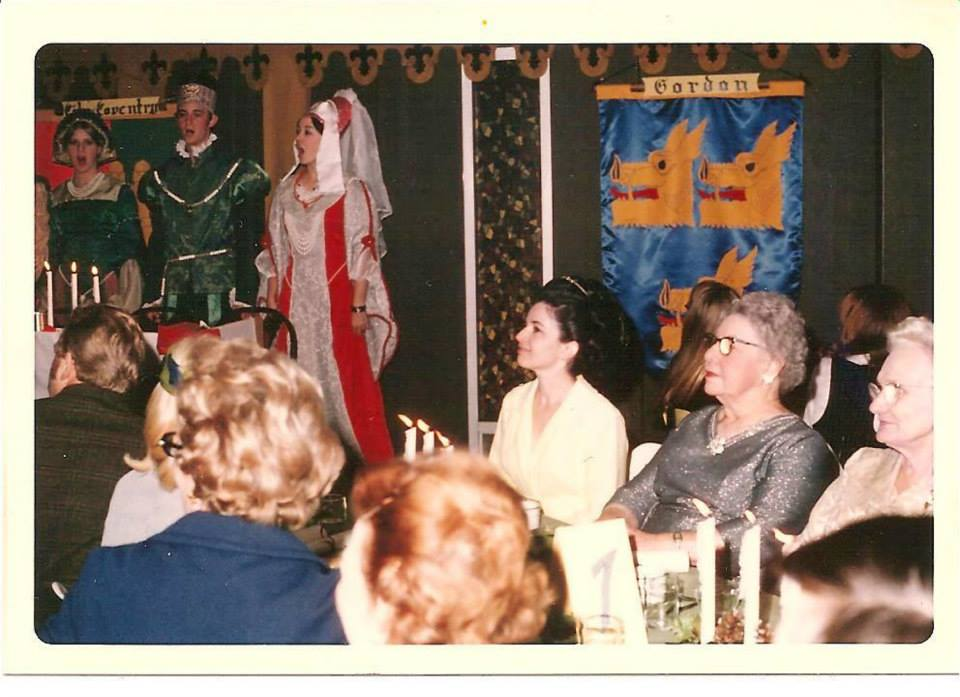 The first USI Madrigal Feast was directed by David Deeg in 1969 in the Forum building.