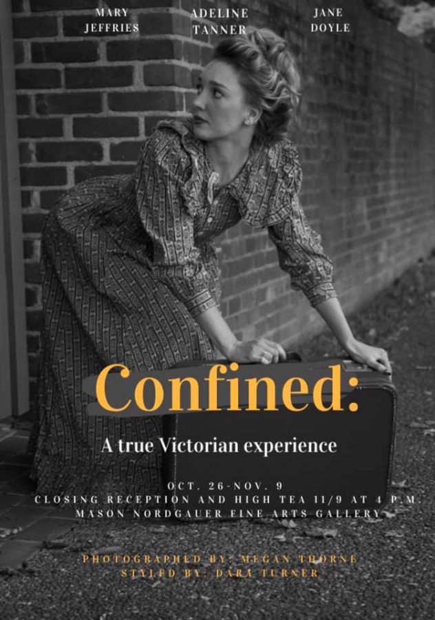 Confined: A true Victorian experience reception coming soon