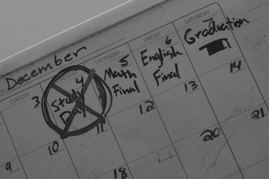 New academic calendar removes study day
