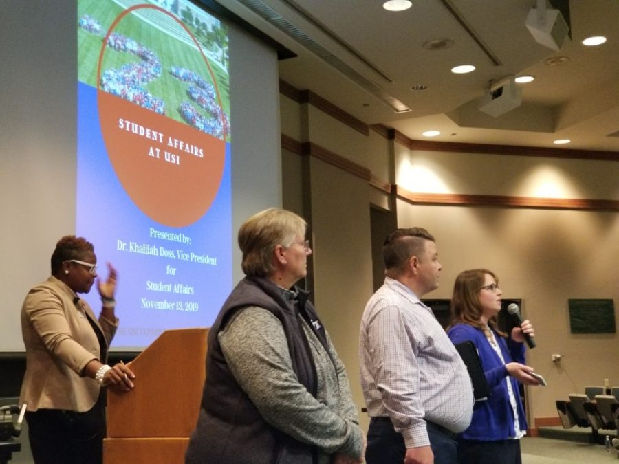VP of Student Affairs addresses Counseling Center concerns at town hall