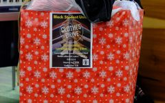 Volunteer eagles: collecting clothes for chilly nights