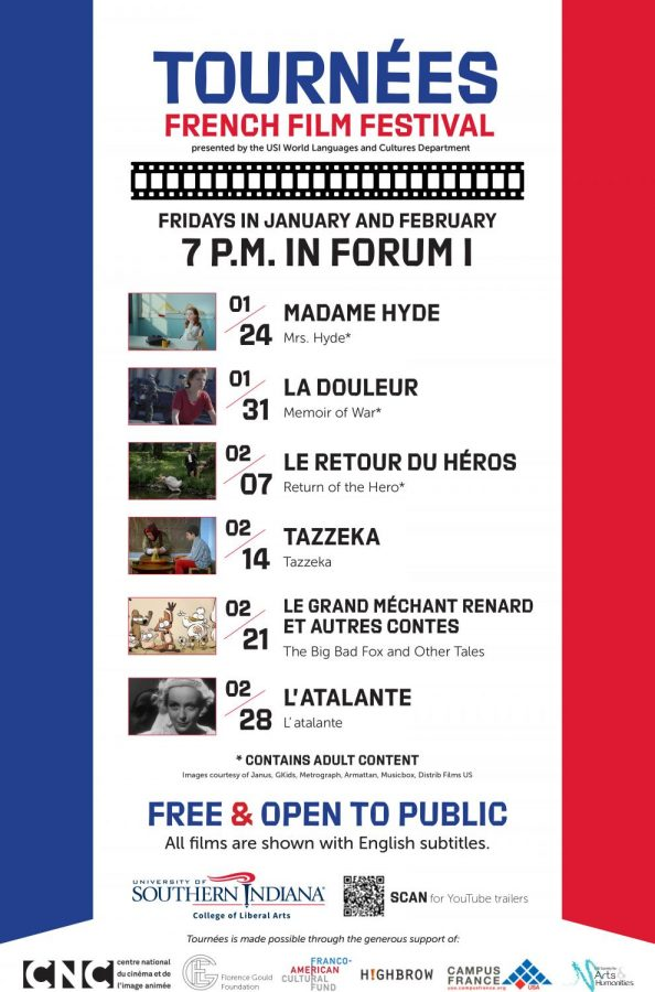 Film+festival+to+feature+rare+French+fare