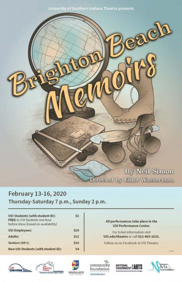 "USI Theater Students put on ""Brighton Beach Memoirs"""