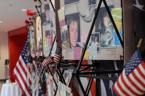 Display memorializes fallen veterans