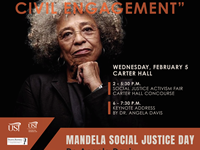 Angela Davis to present 2020 Nelson Mandela Social Justice Day keynote