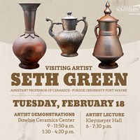 Visiting artist comes to USI for demonstration and lecture