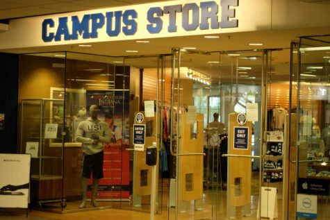 USI bookstore located in University Center East.