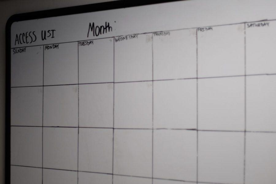 Access USI calendar