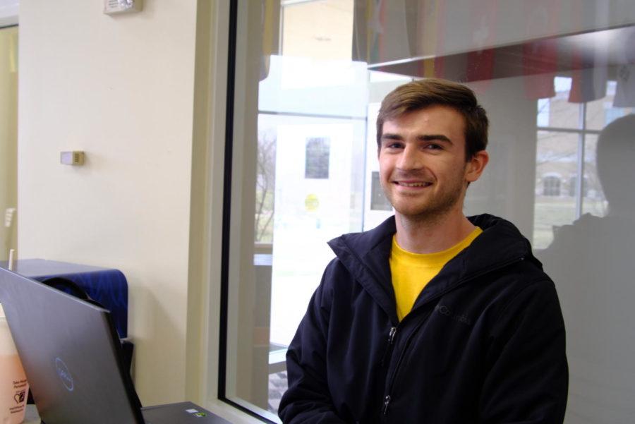 Ethan Rose, senior biochemistry major.