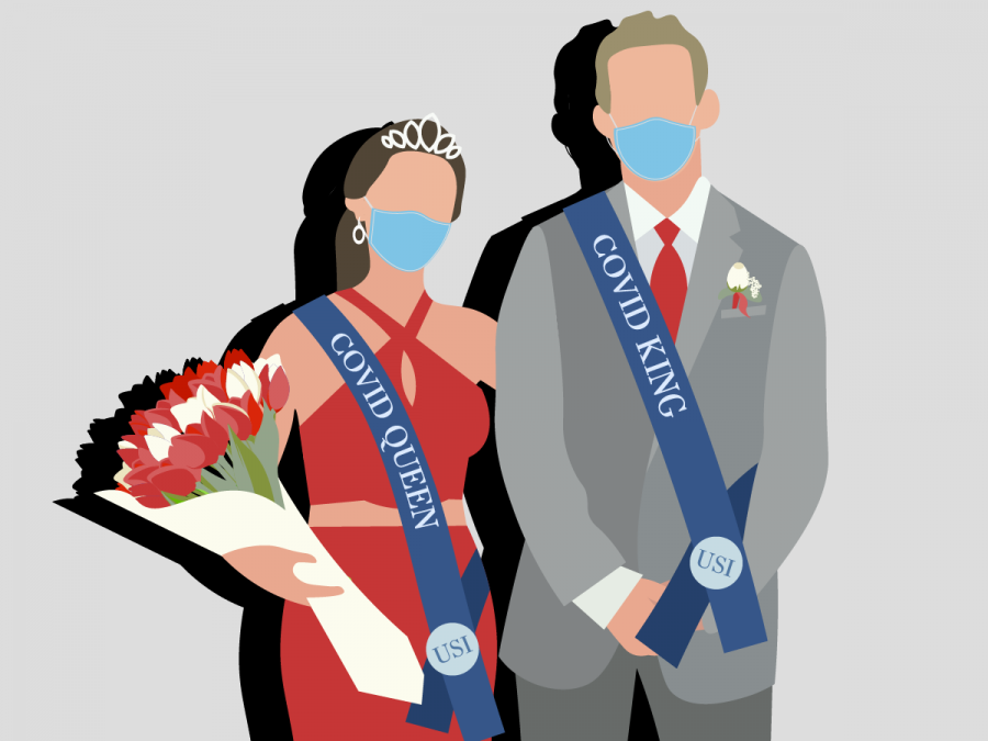 Graphic: A COVID prom king and queen