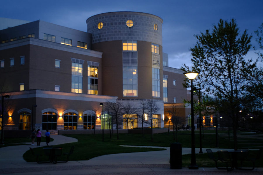 University officials announce budget increase at the town hall Tuesday. The university will have an operating budget of $48.2 million in 2022.