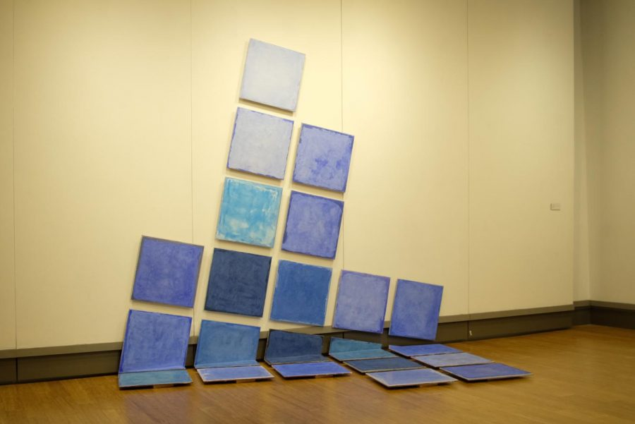 Lime-Light by Mike Nichols. This is one of two installation pieces featured by Nichols in the McCutchan Art Gallery