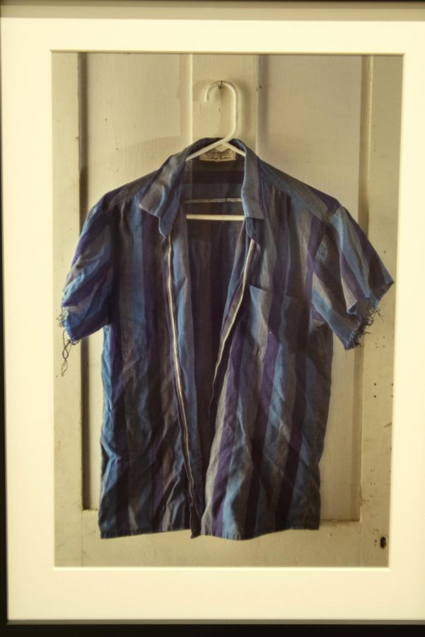 Warrens Work Shirt #1 by Rob Southard. Southards work is typically made of dozens of photographs to create one set piece.