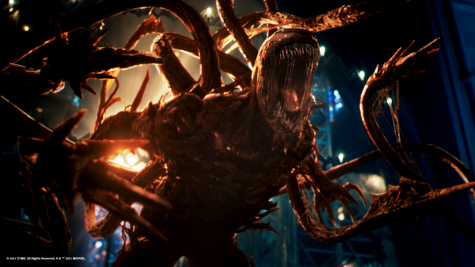 Venom: Let There Be Carnage is the Columbia Pictures  sequel to Venom. Venom: Let There Be Carnage is playing in theaters.