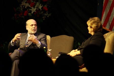 'Personable' Bernanke provides financial advice
