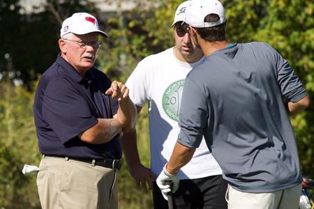 New golf coach settles in